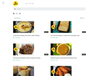 tiffinrecipes.com screenshot