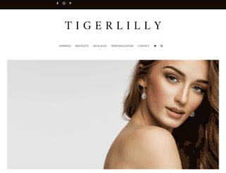 tigerlillyjewelry.com screenshot