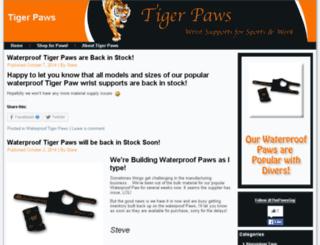 tigerpawblog.com screenshot