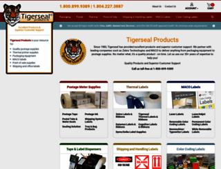 tigersealproducts.com screenshot