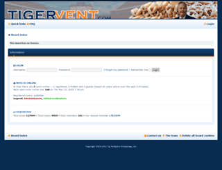 tigervent.com screenshot
