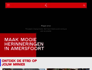 tijdvooramersfoort.nl screenshot