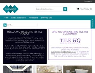 tilehq.co.uk screenshot