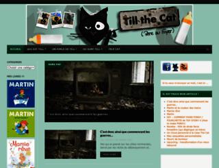 tillthecat.com screenshot