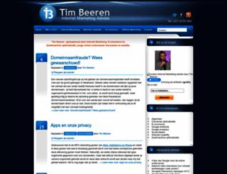 timbeeren.nl screenshot
