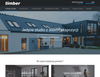 timber.pl screenshot