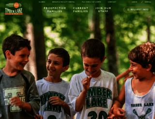 timberlakecamp.com screenshot