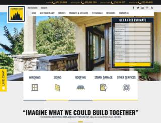 timberlandexteriors.com screenshot