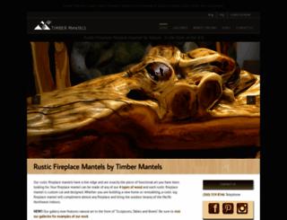 timbermantels.com screenshot