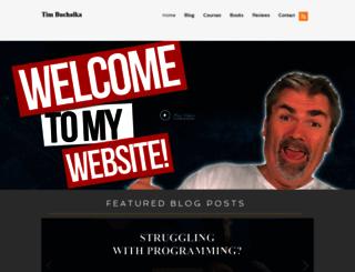 timbuchalka.com screenshot