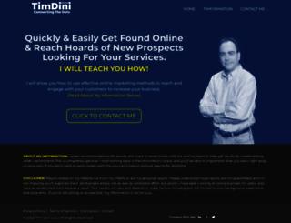 timdini.com screenshot