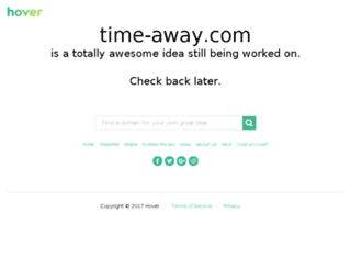 time-away.com screenshot