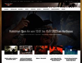 time-for-metal.eu screenshot