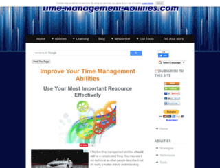 time-management-abilities.com screenshot