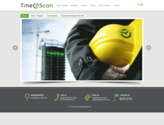 time-scan.com screenshot
