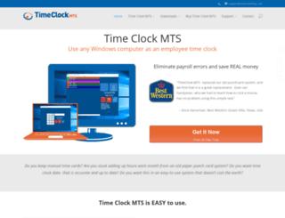 timeclockmts.com screenshot