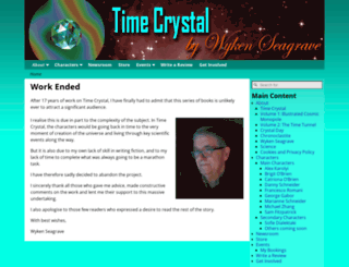 timecrystal.co.uk screenshot