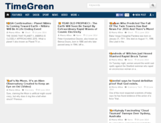 timegreen.net screenshot