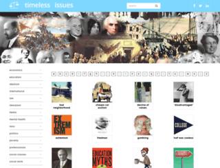 timelessissues.com screenshot