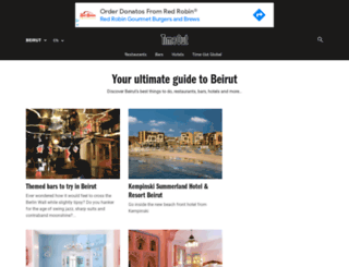 timeoutbeirut.com screenshot