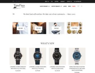timepiecestore.com.au screenshot