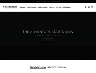 timepiecesusa.com screenshot