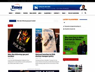 times.co.nz screenshot