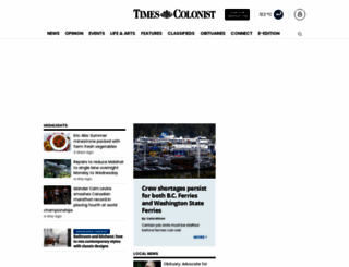 timescolonist.com screenshot