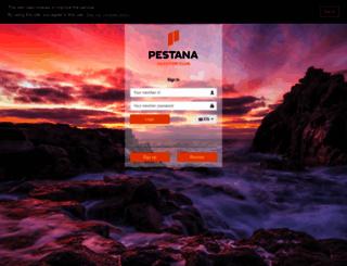 timeshare.pestana.com screenshot