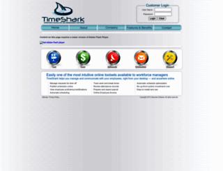 timeshark.com screenshot