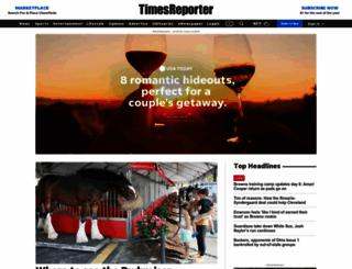 timesreporter.com screenshot