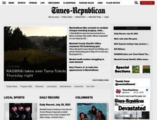 timesrepublican.com screenshot