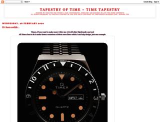 timetapestry.blogspot.hk screenshot