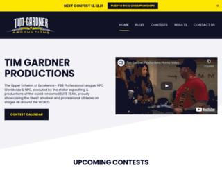 timgardnerproductions.com screenshot