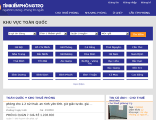 timkiemphongtro.com screenshot