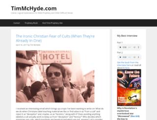 timmchyde.com screenshot