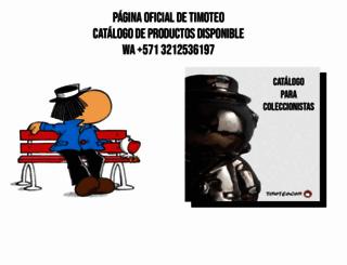 timoteo.com screenshot