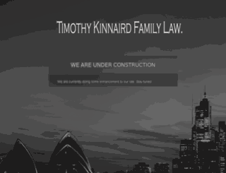 timothykinnairdfamilylaw.com screenshot