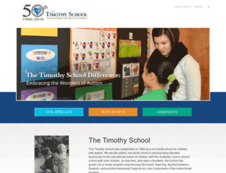 timothyschool.azurewebsites.net screenshot