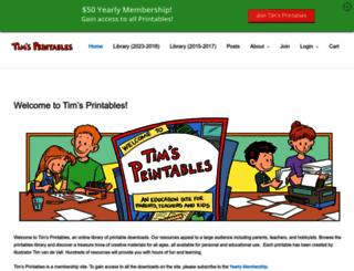 timvandevall.com screenshot