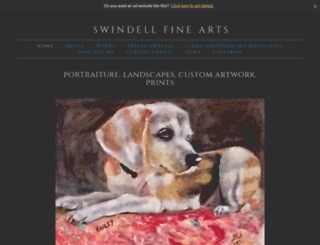 tinaswindell.com screenshot