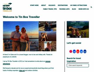 tinboxtraveller.co.uk screenshot