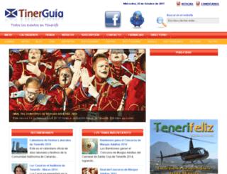 tinerguia.com screenshot