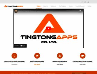 tingtongapps.com screenshot