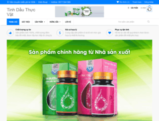 tinhdauthucvat.com screenshot