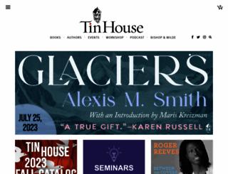 tinhouse.com screenshot
