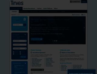 tinies.com screenshot