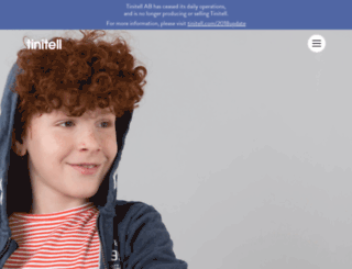 tinitell.com screenshot