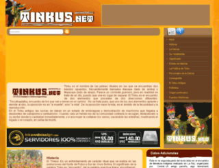 tinkus.net screenshot