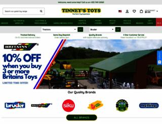 tinneystoys.com screenshot